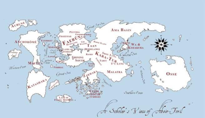 mappa di toril